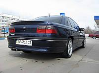 """Накладка на задний бампер Opel Omega B """"Steinmetz"""", Опель Омега Б"""