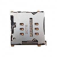 Разъем SIM-карты HTC S720e One X П23/ S728e One X+