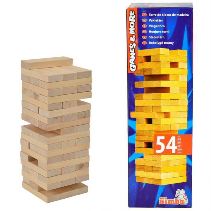Настольная игра Симба Дженга деревянная башня Simba 6125033