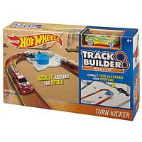 Трек Хот Вилс Hot Wheels Крутой поворот Соедини все треки Workshop Track Builder Turn Extensio