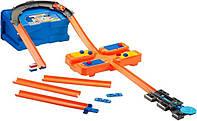 Трек Хот Вилс Hot Wheels Стартовый набор для трюков Builder Stunt Box, фото 1