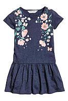 Платье детское девочке летнее р. 6-8лет хлопок