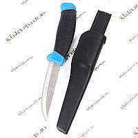Дайверский (водолазный, рыбацкий) нож (черно-синий)