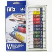 Краски акварель Basics 12 цв по12мл EW 1212 C