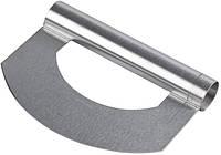 Шпатель делитель теста металлический - скребок универсальный