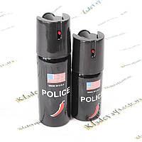 Газовый баллончик для самозащиты POLICE (перцовый) 60ml.