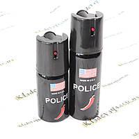 Газовый баллончик для самозащиты POLICE (перцовый) 40ml.