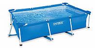 Каркасный бассейн 260х160х65см Intex Rectangular Frame 28271