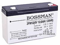 Аккумулятор Bossman 6V 12Ah