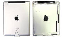 Крышка задняя Ipad 3 with SIM 3g silver Original