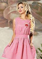 Модное летнее платье в полоску, фото 1