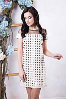 Модное платье молодежное в 6ти цветах IR Амалия