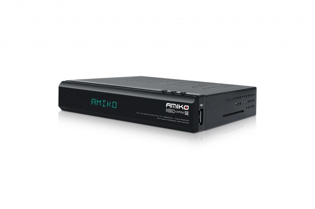 Спутниковый HD ресивер Amiko Neo Combo SE