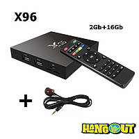 X96 TV Box Amlogic S905X, 2Gb+16Gb
