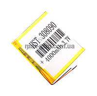 Аккумулятор Universal (Li-ion, 3.7V) 308090 size: 90x80x3mm. (4000mAh)