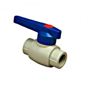 Кран ппр шаровой для холодной воды ду25 Blue Oucean