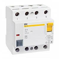 ПЗВ (пристрій захисного відключення)   ВД1-63 4Р 40А  30мА ІЕК