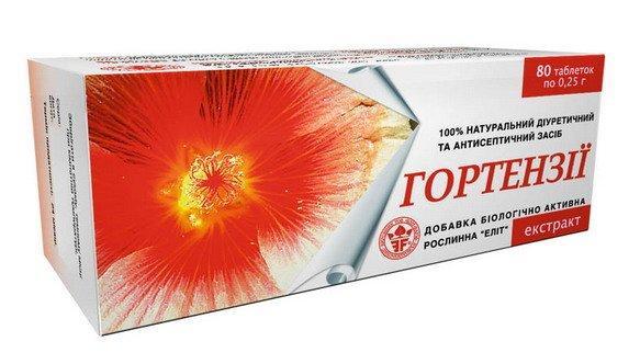 Екстракт Гортензії (Еліт-Фарм) 80 табл.