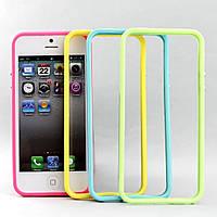 Силиконовый чехол бампер на iphone 5/5s