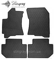 Комплект резиновых ковриков Stingray для автомобиля  SUBARU TRIBECA 2005- (DESIGN 2016)     4
