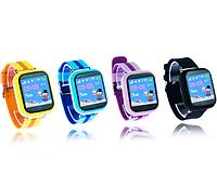 Детcкие умные смарт часы Smart Baby Watch Q100 S/Q750 с GPS 4 цвета
