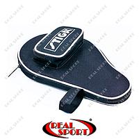 Чехол на ракетку для настольного тенниса Stiga MT-5533 (полиэстер, черный, р-р 30х21 см)