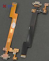 Шлейф Meizu MX5 с коннектором зарядки и микрофоном