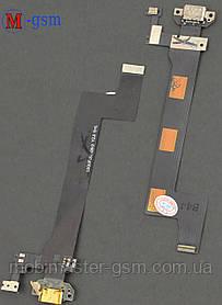 Шлейф Meizu MX5 Pro с коннектором зарядки и микрофоном