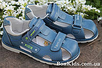 Подростковые ортопедические босоножки на мальчика тм Tom.m р. 34,35