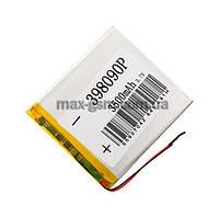 Аккумулятор Universal (Li-ion, 3.7V) 398090P size: 87x79x3.5mm. (3500mAh)