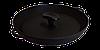 Чугунная сковородка с прессом 340х40 мм