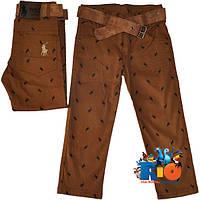 """Стильные детские коттоновые брюки """"Polo Kids"""" , для мальчика от 3-7 лет (5 ед. в уп.)"""