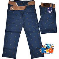 """Стильные детские коттоновые брюки """"Polo Kids"""" , для мальчиков от 3-7 лет (5 ед. в уп.)"""