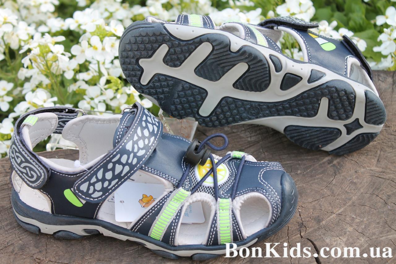 Спортивные босоножки для мальчика с закрытым носком тм Тoмм р.36,37