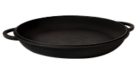 Чугунная крышка-сковородка 300 мм