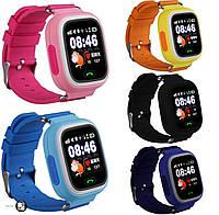 Детские умные смарт часы Smart Baby Watch Q100/Q90 с GPS 5 цветов