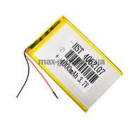 Аккумулятор Universal (Li-ion, 3.7V) 4062107 size: 107x62x4mm. (4000mAh)