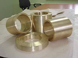 Втулки бронзовые с центробежным литьем марки БрАж 9-4