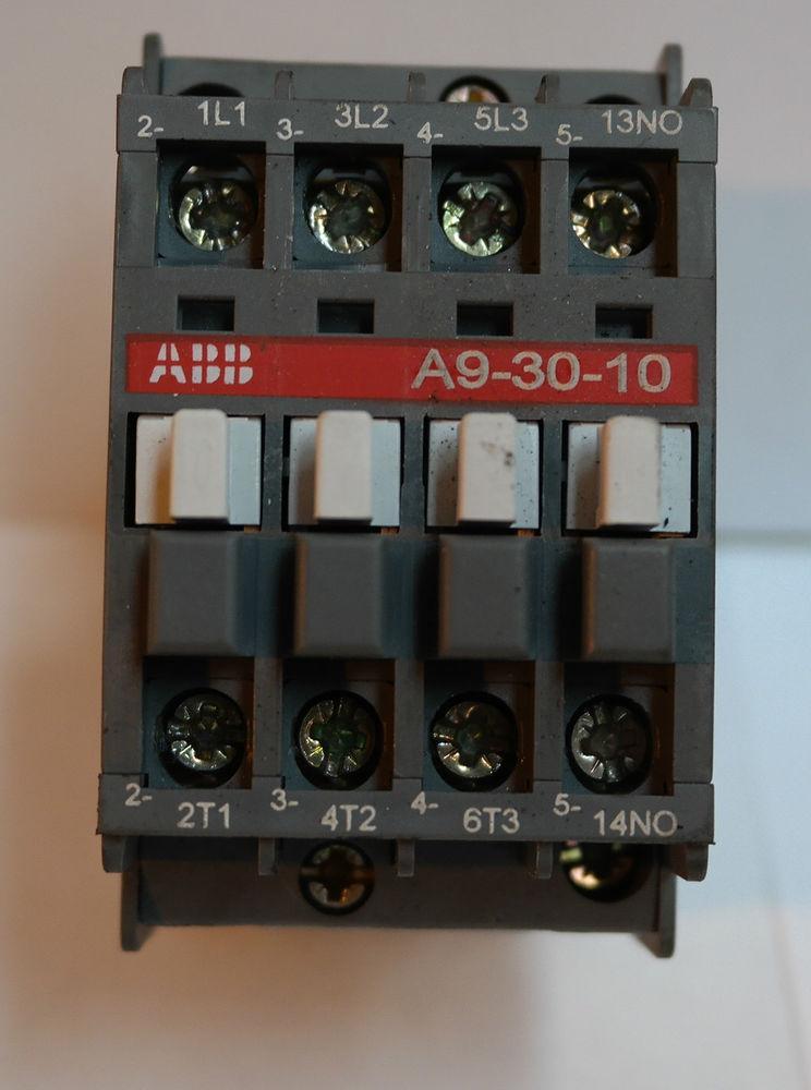 Контактор A9-30-10 230-240V 50Hz / 240-260V 60Hz