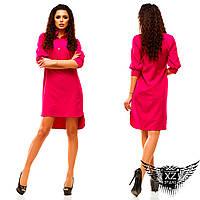 Платье-рубашка, выше колена, цвета мятное, зеленое, все размеры и другие цвета