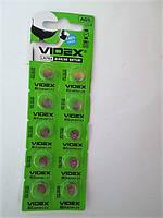 Батарейка Videx AG5 alkaline  1.5V