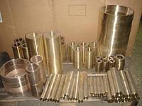 Втулки бронзовые с центробежным литьем марки БрАЖМц