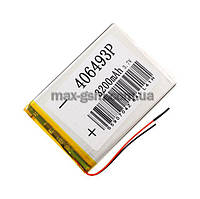 Аккумулятор Universal (Li-ion, 3.7V) 406493P size: 91x65x3.5mm. (3200mAh)