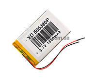 Аккумулятор Universal (Li-ion, 3.7V) 505380P size: 85x53x3.5mm. (1800mAh)