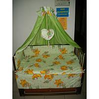 Комплект постельного белья для новорожденного