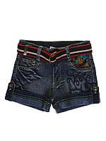 Детские шорты джинсовые для девочки