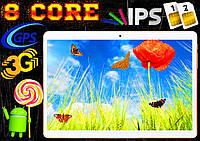 Игровой планшет телефон Samsung MT13, 8 core, 10'', GPS, 2 sim, IPS, 3G