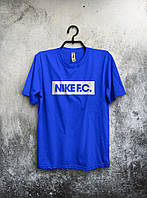 """Футболка мужская Nike """"F.C."""" (синяя)"""