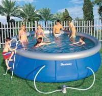 Как выбрать бассейн: надувной или каркасный?