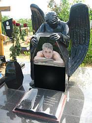 Скульптура ангела из гранита № 9